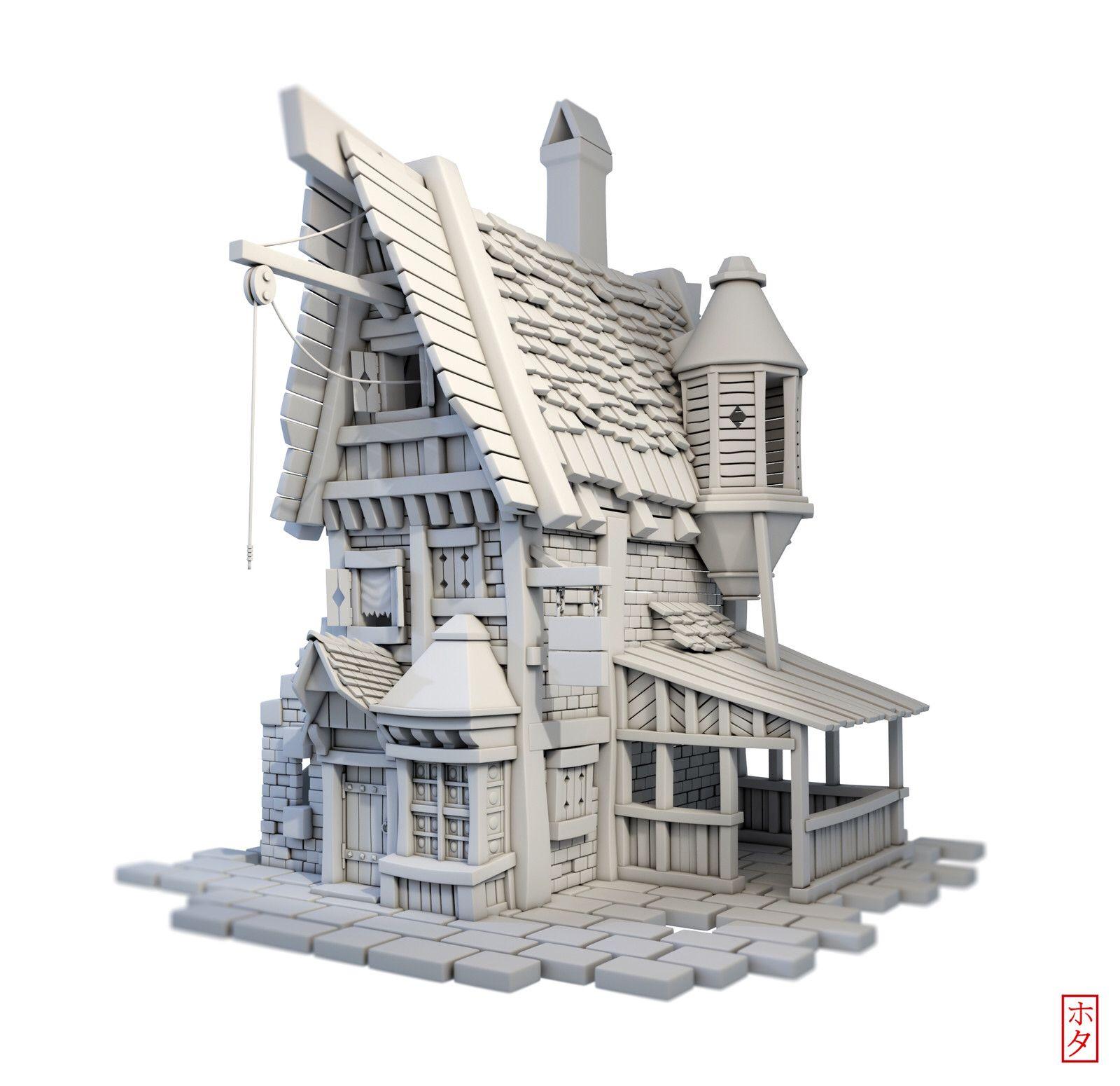 3d Modeler 건물 3d 모델링 건축