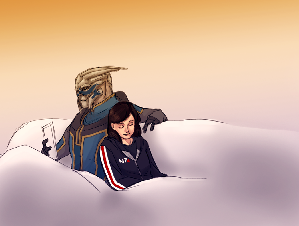 There's No Shepard Without Vakarian Photo Femshep