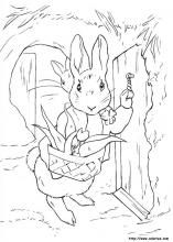 Stunning Rabbit Coloring Book 89 Peter Rabbit coloring pages