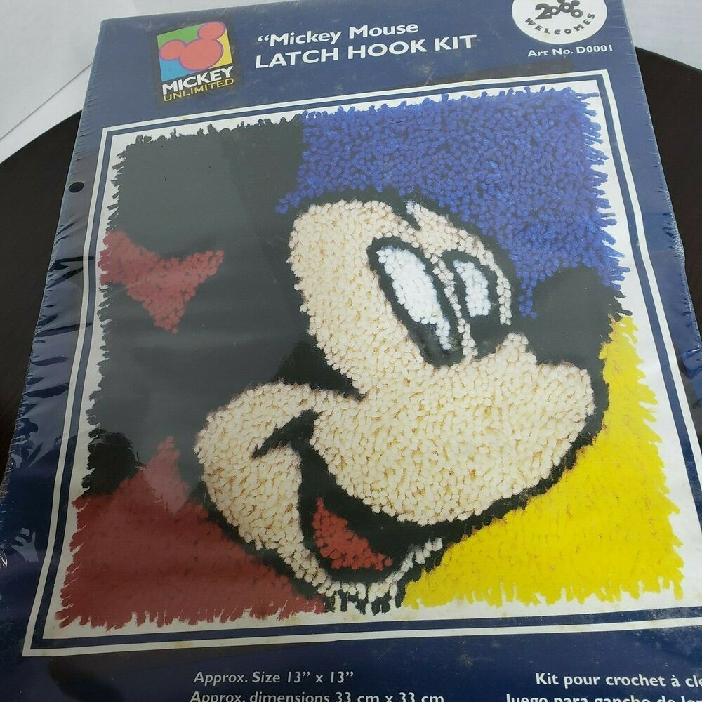 Disney Tinkerbell Latch Hook Kit