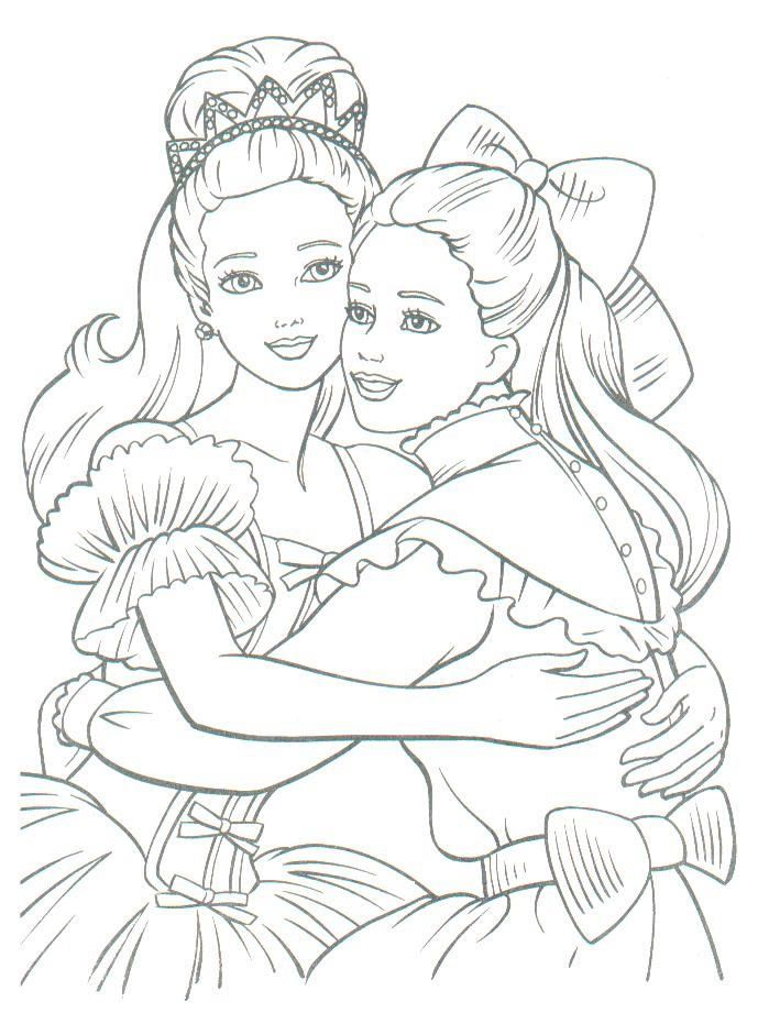 Barbie Coloring Page Princess Coloring Pages Disney Princess Coloring Pages Coloring Pages