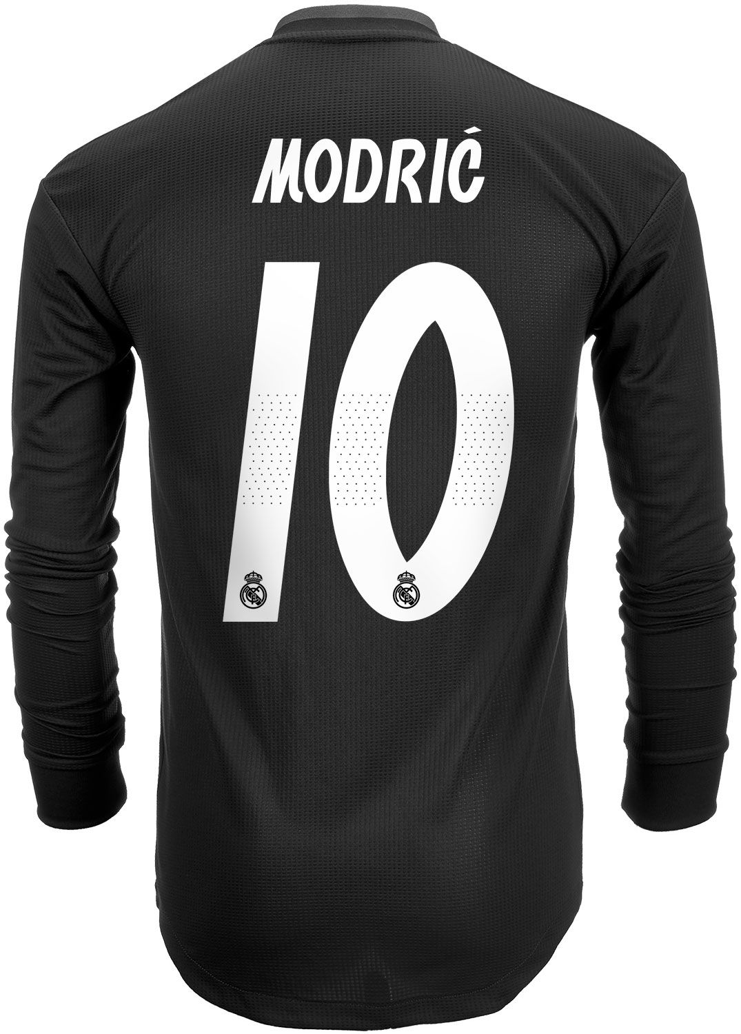 cf7178c81 Get the Modric 2018 19 real madrid long sleeve authentic away jersey right  now from SoccerPro.