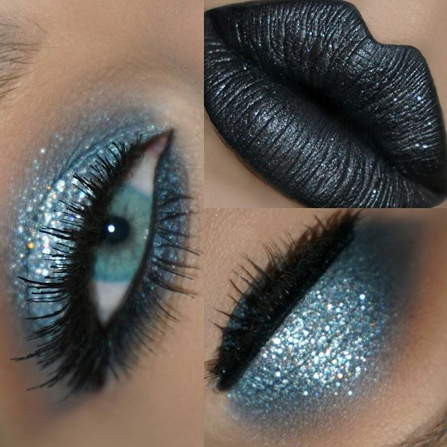 You Know Just A Look For The Holiday Rockstars Under You Yay Or Nay Details Motivesco With Images Wedding Eye Makeup Dramatic Eye Makeup Glitter Eyes