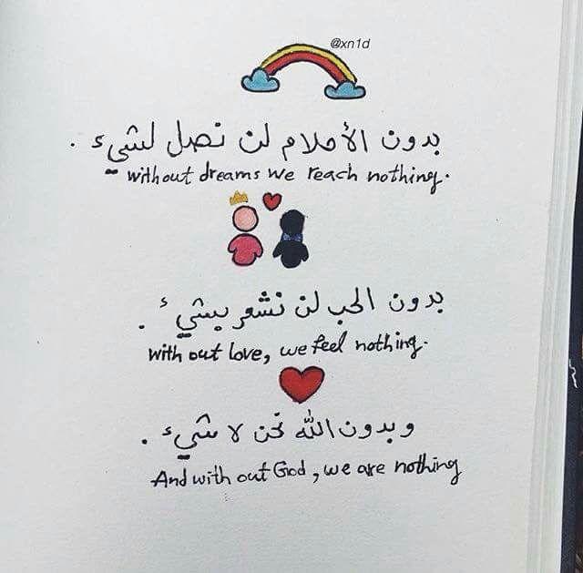 بدون الله نحن لا شيء Proverbs Quotes Funny Arabic Quotes