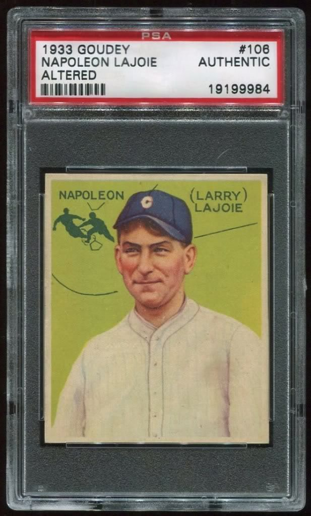 One Of The Rarest Baseball Cards On Earth This Card Was Purposely Left Out Of Bubble Gum Packs In 1933 To Sell More Baseball Cards Old Baseball Cards Baseball