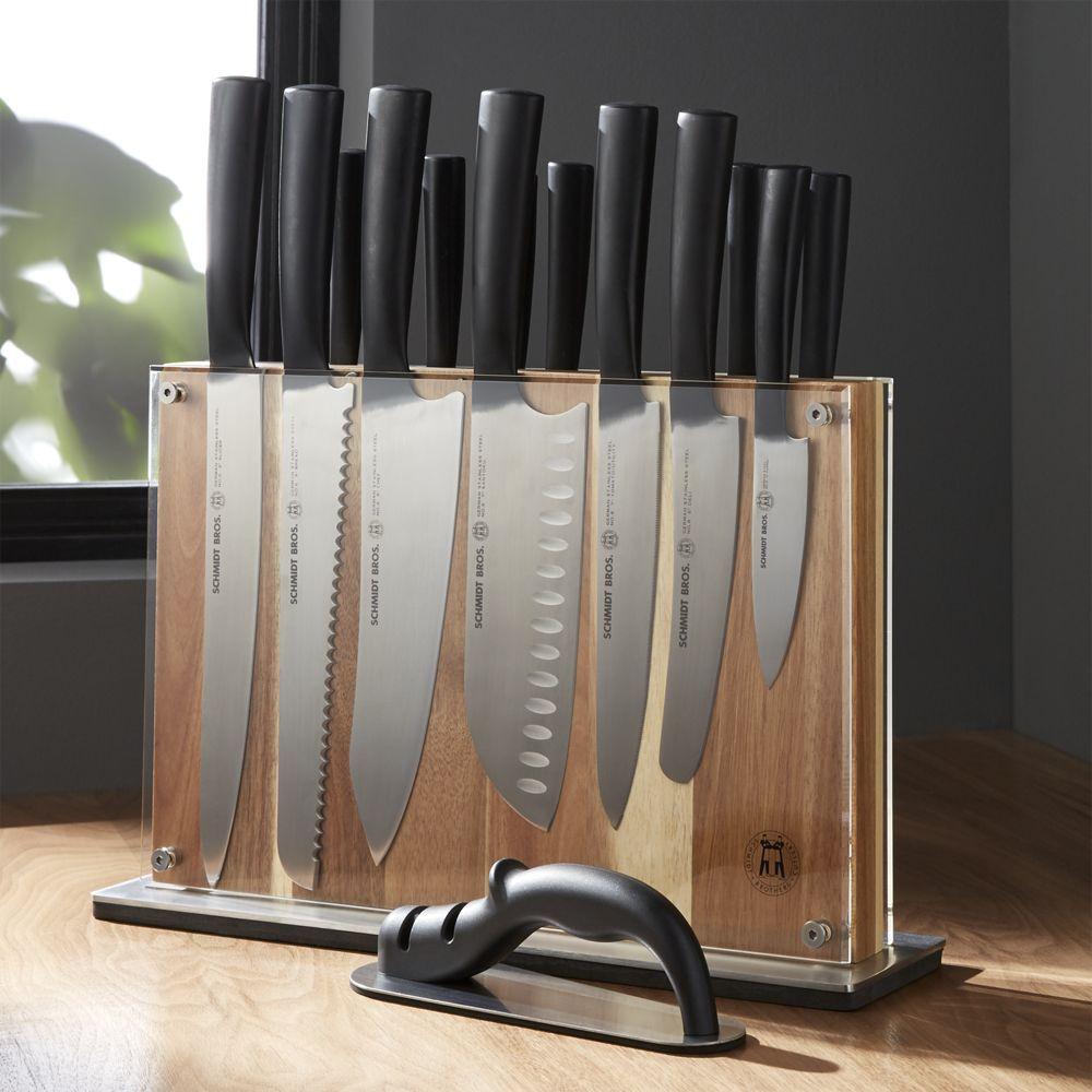 Schmidt Brothers  Carbon 6 15-Piece Knife Block Set ...
