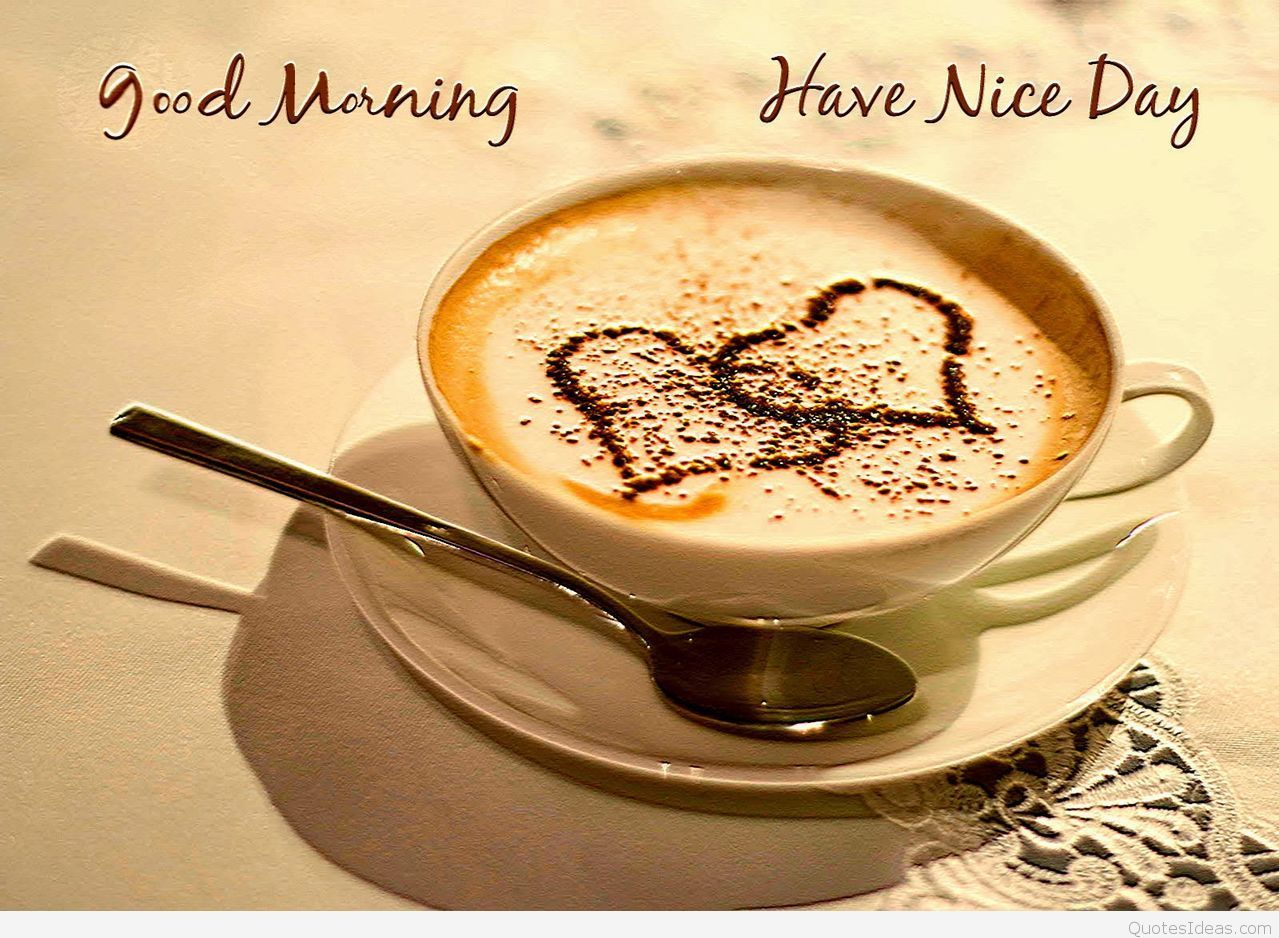 Good Morning Coffee Pics: Good Morning Wallpapers Wide For Desktop Wallpaper 1279 X
