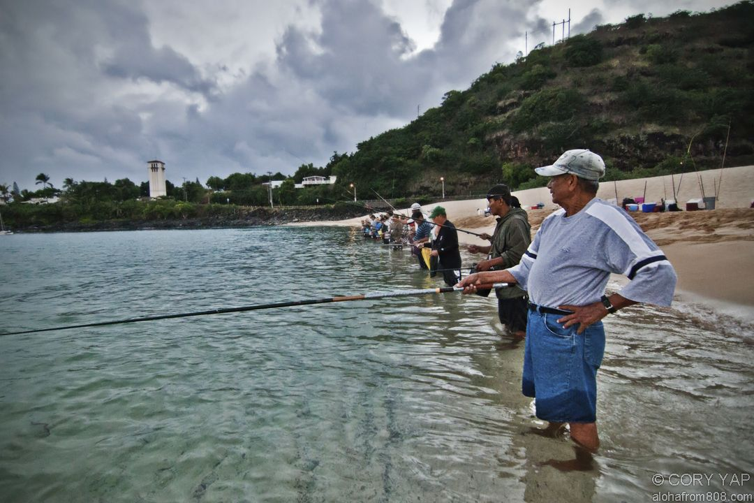 Fishing at waimea bay oahu hawaii wish i was there for Shore fishing oahu