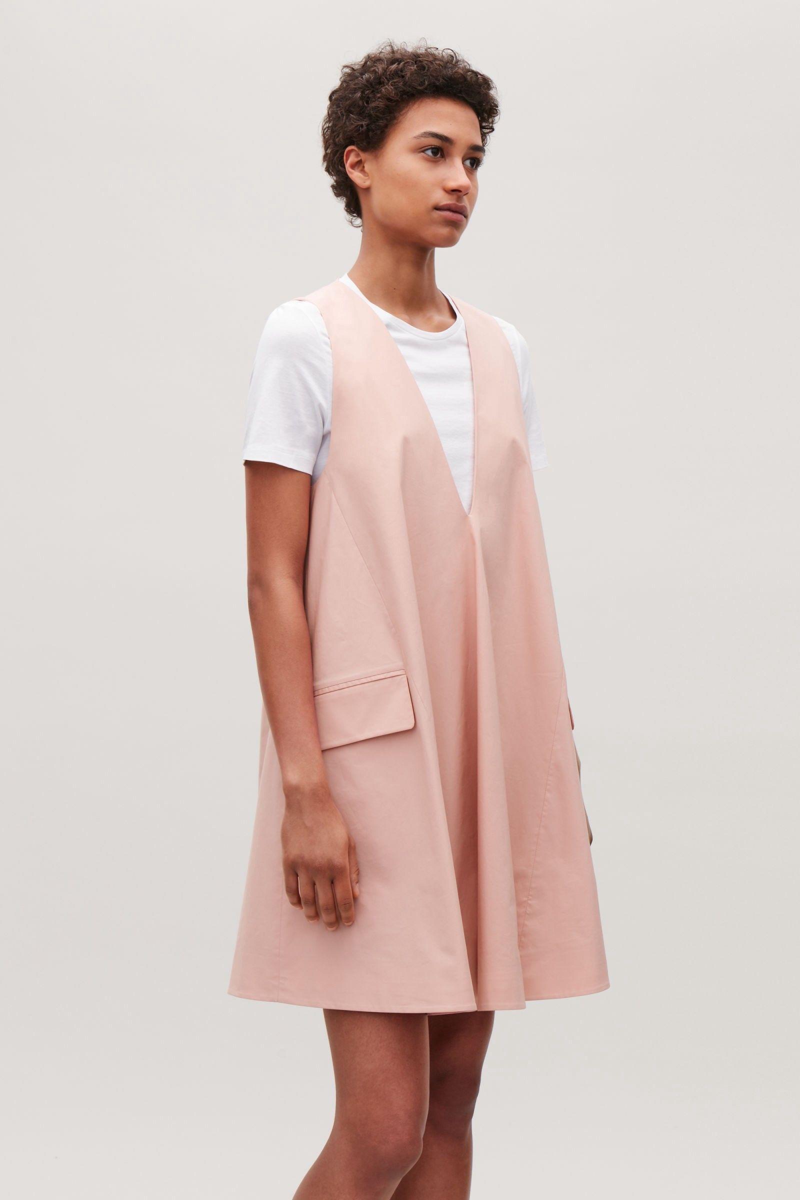 Cos sleeveless aline dress dusty pink 12 dresses