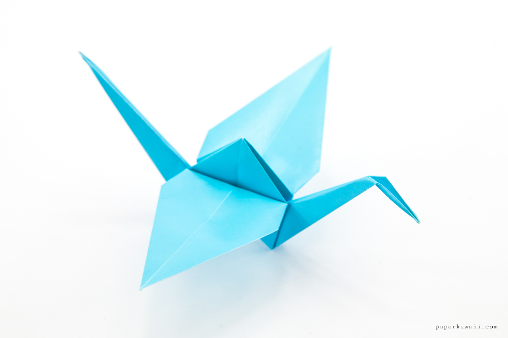 Origami Paper Cranes: Try Making One [Video] - Sadako and the ... | 666x1000