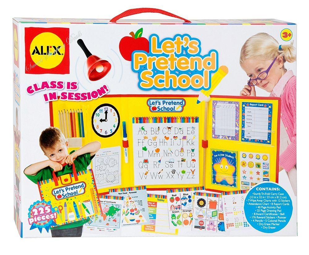0365425f4c8b Pretend Play School Teacher Set Kids Toys Educational Toy for ...
