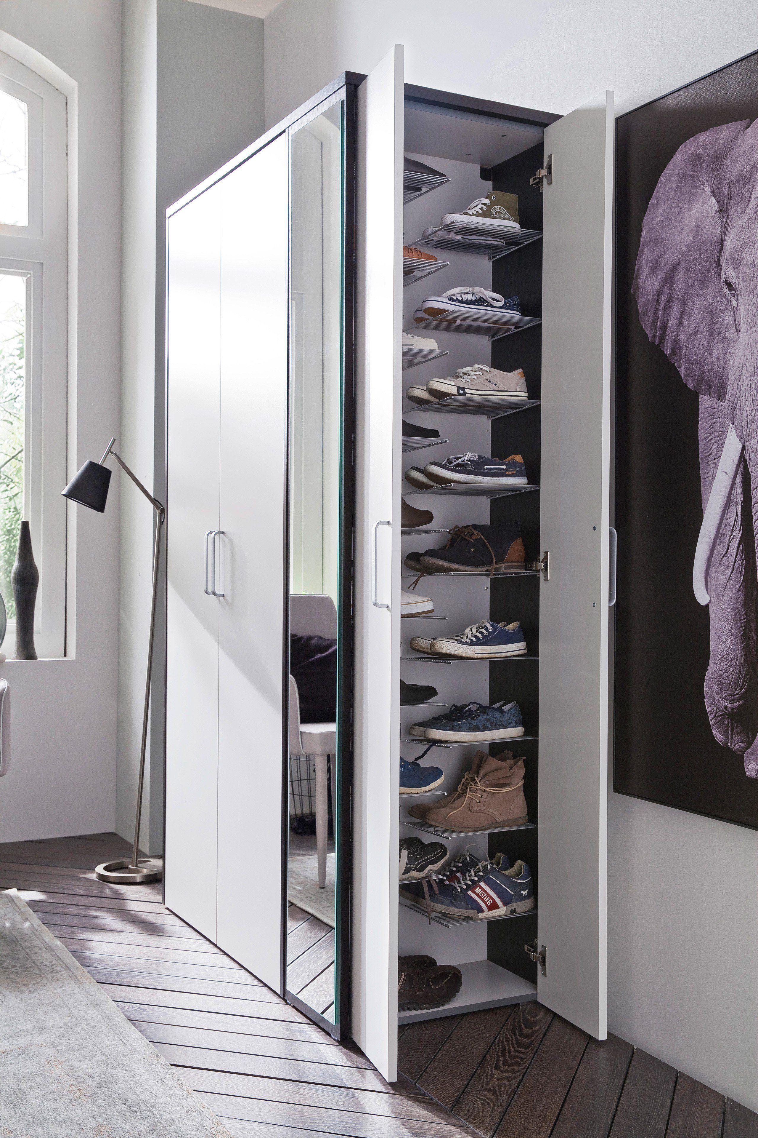 Wittenbreder Garderobe Multi Color Wood Eiche Tabak Mobel Letz