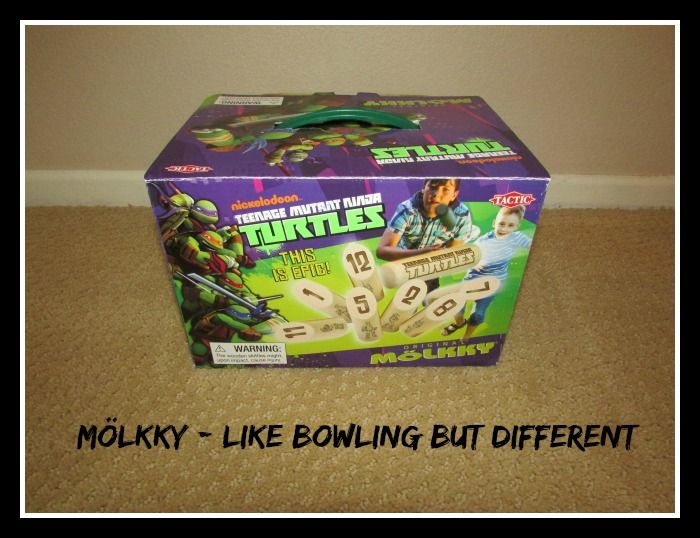 TMNT Mölkky is a fun new game for all ages. This is a great game for a Christmas gift!