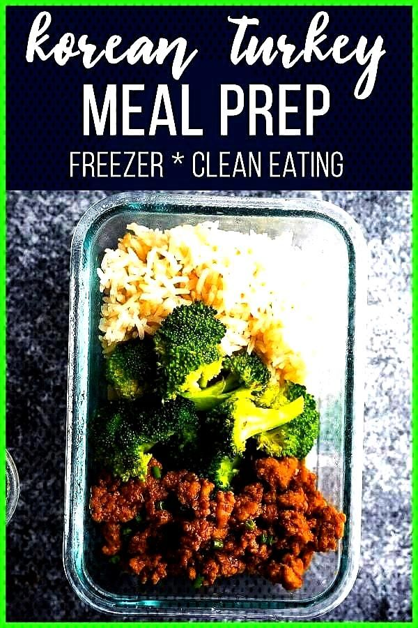 turkey meal prep is packed with flavor and under 400 calories per bowl Prep this simple ground turk