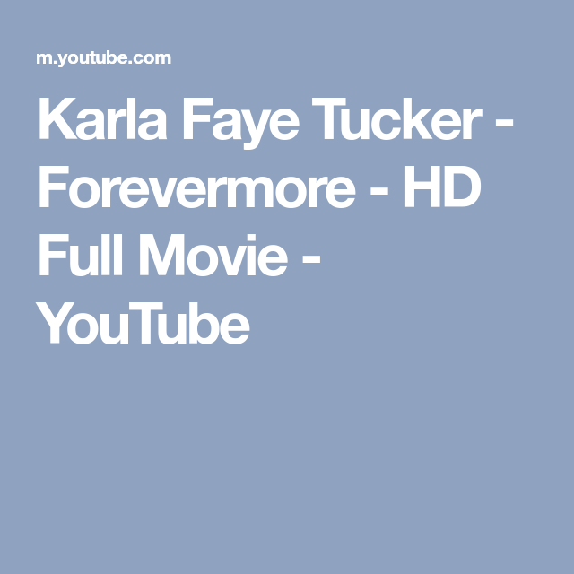 Watch Karla Faye Tucker: Forevermore Full-Movie Streaming