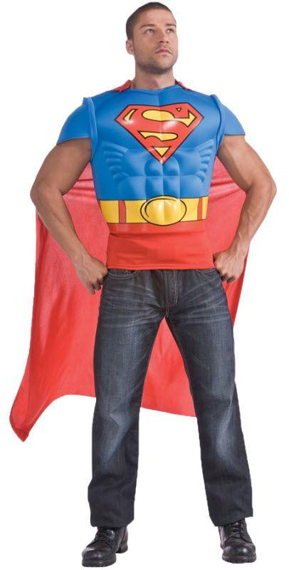 Men's Superman Muscle Shirt #halloweencostumesformen
