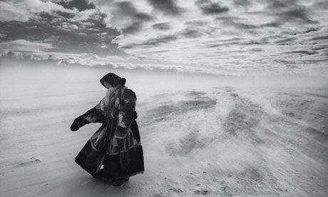 Sebastiao Salgado in Siberia.