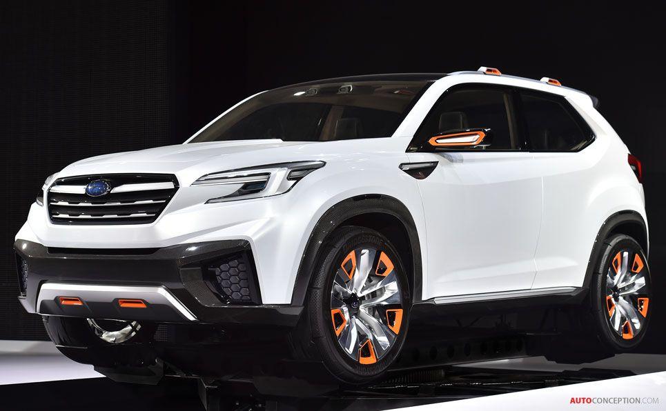 Subaru VIZIV Future Concept Субару, Внедорожники, Автомобили