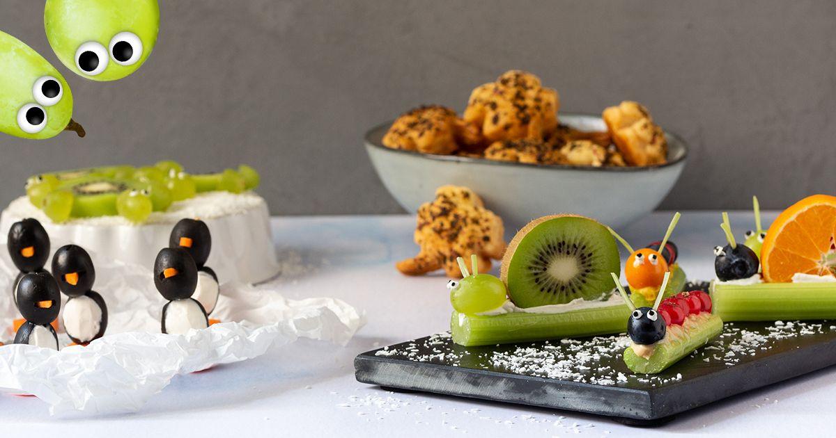 Fingerfood für Silvester - Freche Freunde Kochclub #obstgemüse
