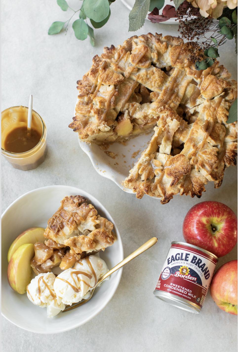 Caramel Apple Pie Recipe In 2020 Food Recipes Breakfast Dessert Apple Recipes