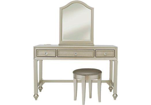 Sofia Vergara Petit Paris Champagne Vanity Mirror And