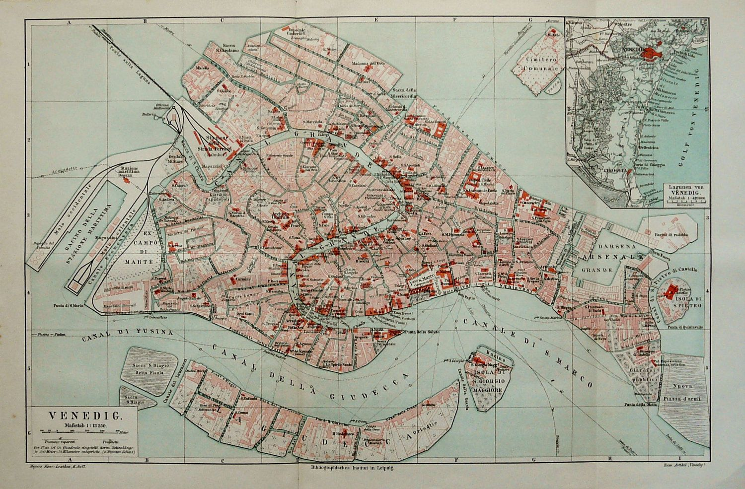 VINTAGE MAPS VENICE - Google Search