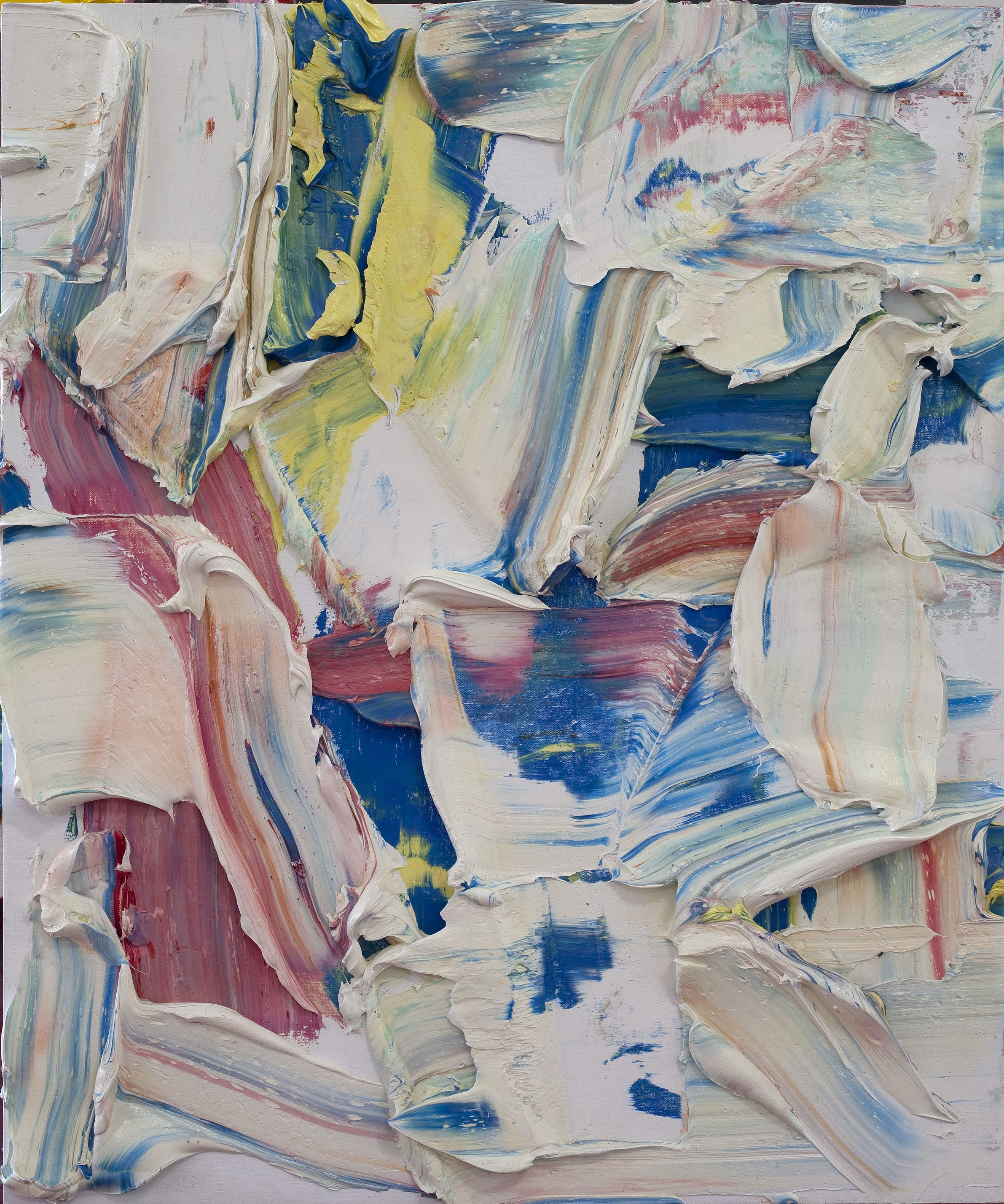 Zhu Jinshi 朱金石, Color to One's Heart's Content 痛快色, 2010, Oil on canvas 布面油畫, 120 x 100 cm (47 1:5 x 39 2:5 in.)  Featured at Pearl Lam for Art Hong Kong 2012