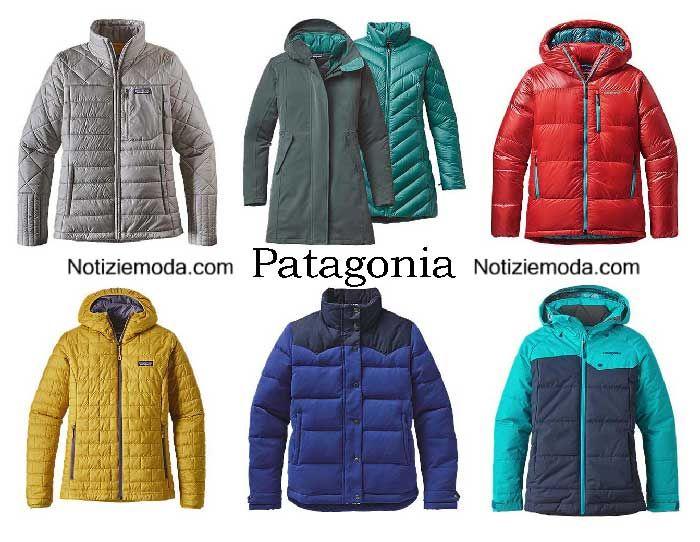 the latest 885b0 bef9a Piumini Patagonia autunno inverno 2016 2017 donna | Moda ...