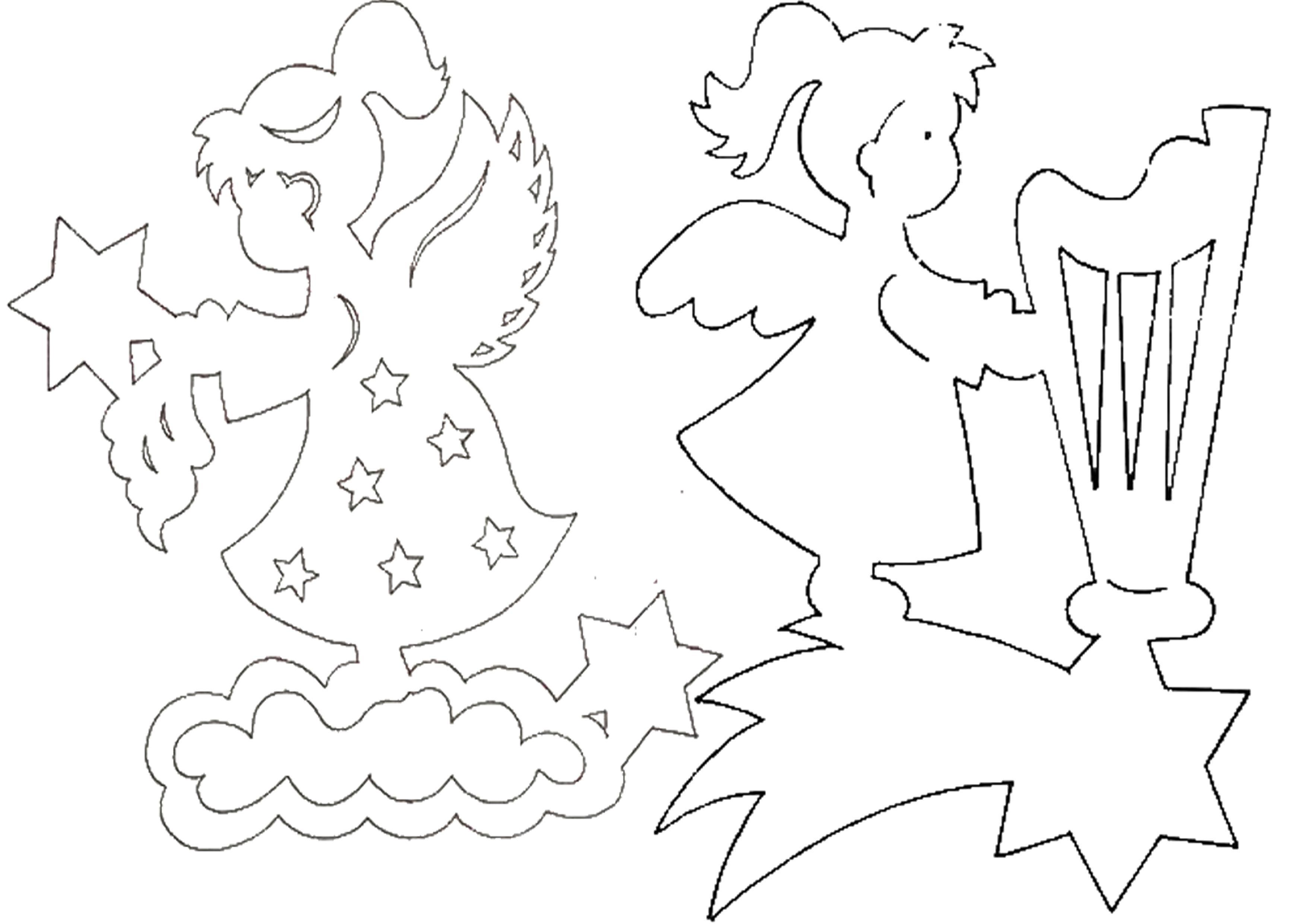 Ангелочки из ткани своими руками шаблоны фото 120