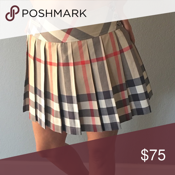 Burberry skirt Perfect condition. Comes as shown. Burberry Skirts Mini