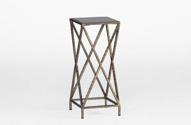Perfect GABBY   The McKewen Side Table Is Another Functional Small X Accent Table  Piece Designed To Be Moved Around. This Beautiful, Offset X Frame Is  Crafted In ...