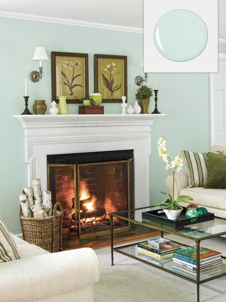 No Fail Colors For Living Spaces Living Room Green Mint Living