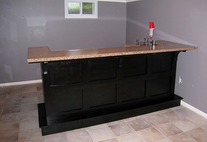 Build Your Own Home Bar Diy Wny Handyman Basement Bar DIY Backsplash Puddy 39