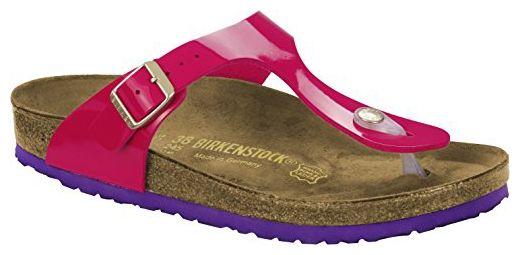 bf2e178f4506c Birkenstock Damenschuhe 1005304 Gizeh Pink (Patent Pink ), EU 42, Schmal -  Sandalen für frauen (*Partner-Link)