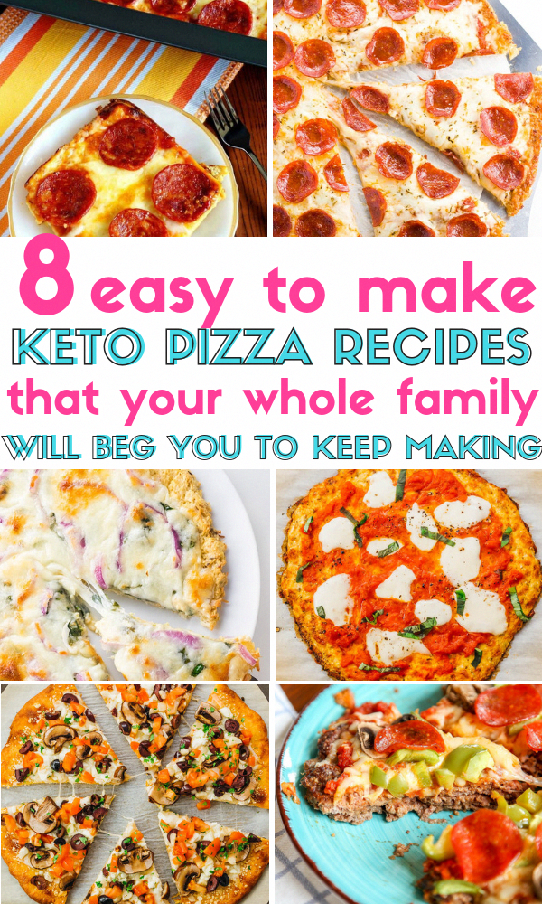 8 Easy Keto Pizza Recipes that You Can Enjoy Guilt-Free on The Ketogenic Diet! T... - #enjoy #guilt #ketogenic #pizza #recipes - #BreakfastPizza