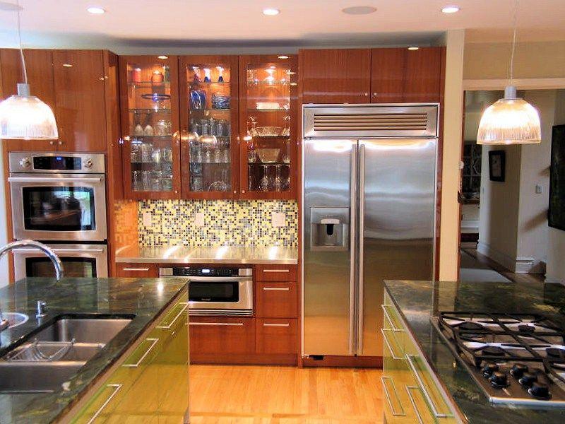 Springmill Kitchen Renovation Mahogany Cabinetry Neff ...