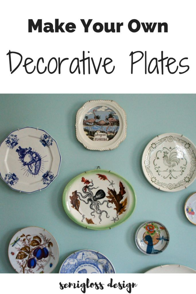 make your own decorative plates plate wall unique and walls