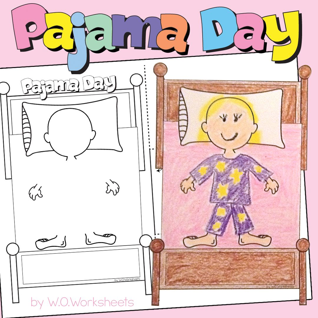 Pajama Day Craft And Activities To Help Celebrate And