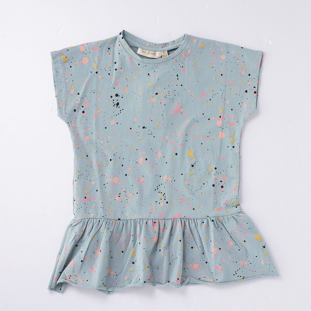2015SS soft gallery Pippi AOP Mini splash - Green Splash - 北欧をメインに国内外の子供服や雑貨をご紹介する通販サイトです。| litrois(リトロワ)