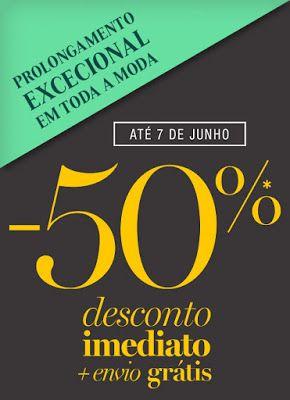 Amostras e Passatempos: TODA a Moda com -50% by La Redoute