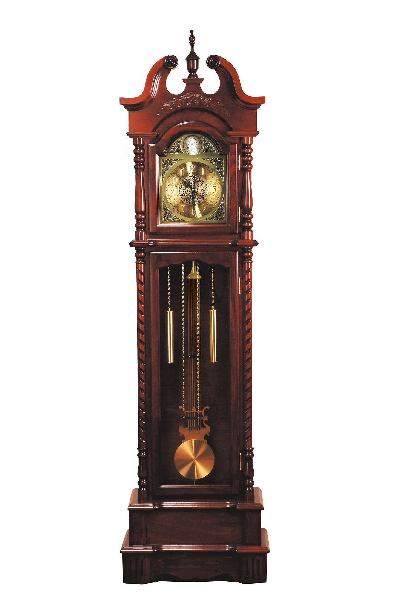 Wall Hanging Grandfather Clock sligh - trend grandfather clock for sale (2nd hand) sligh model