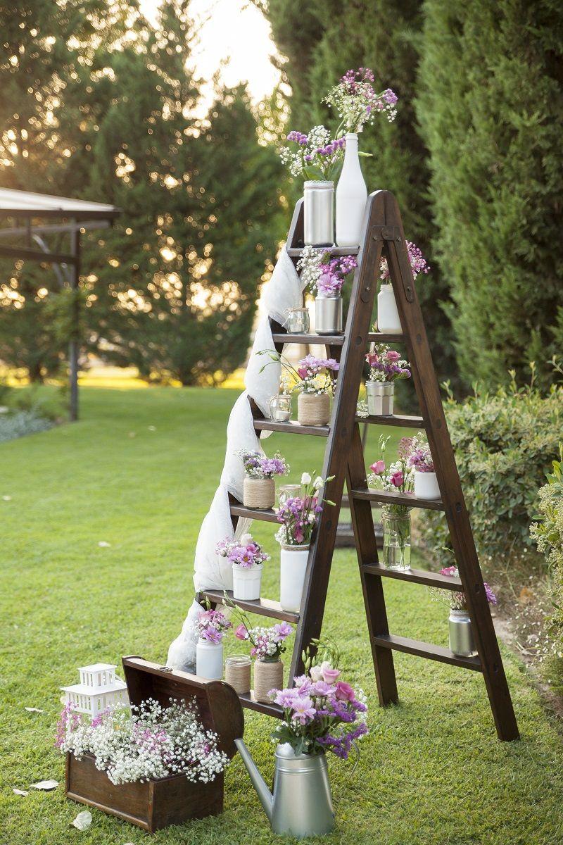 50 Ausgefallene Hochzeitsdeko Ideen Ladder Decor Wedding Decor