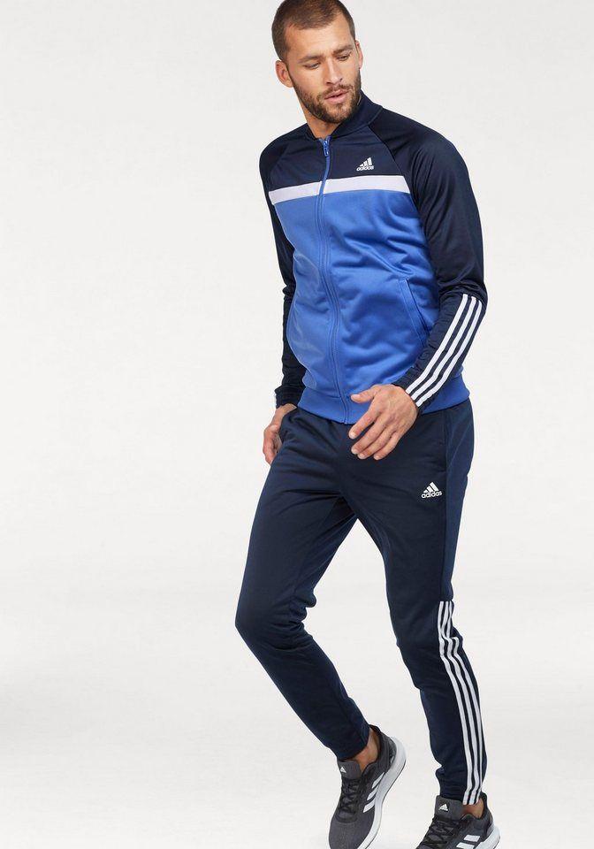 Adidas Performance Trainingsanzug Colorblock Set Otto Track Suit Men Addidas Track Suit Adidas Outfit