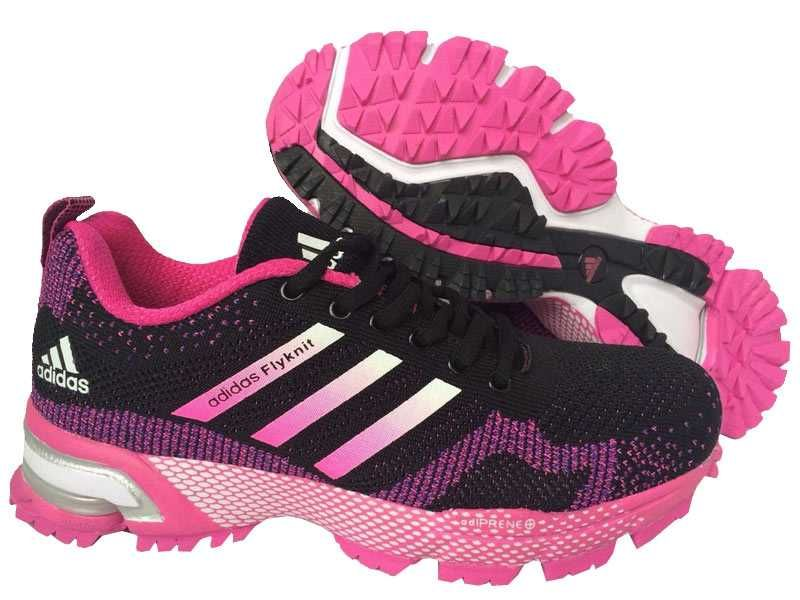 Ups Novelista pakistaní  1767 : Adidas Marathon Flyknit Dam Herr Bright Jade Svart Fuchsia  SE744962skzVsmR   Running shoes for men, Black running shoes, Pink running  shoes