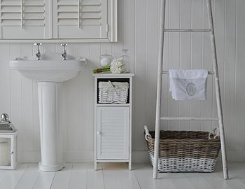 Bathroom Cabinets 30cm Wide coastal bathroom cabinet furniture from the white lighthouse for a