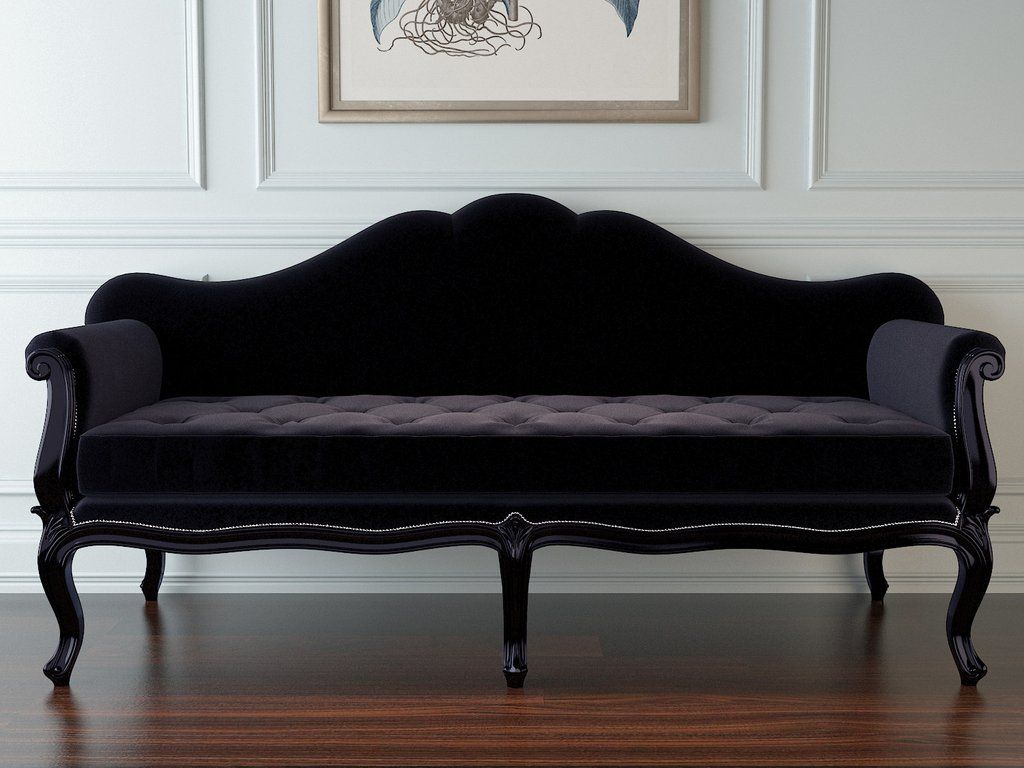 Baroque Sofa Bed Corner Plans Lilith French Black Architechture Pinterest