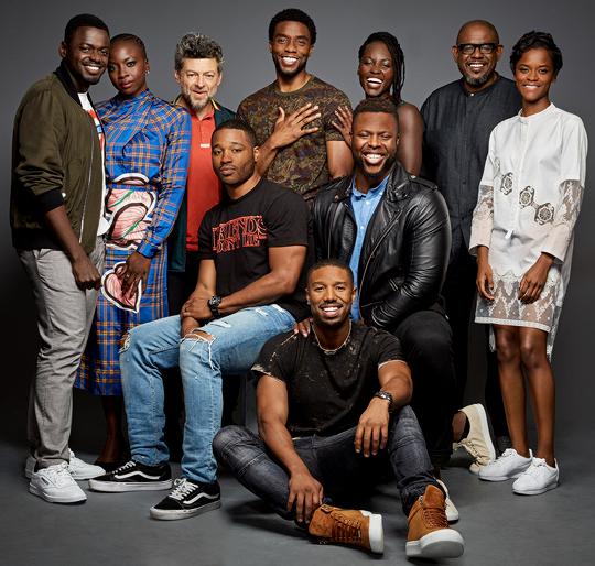 The Cast Of Marvel's Black Panther & Director Ryan Coogler