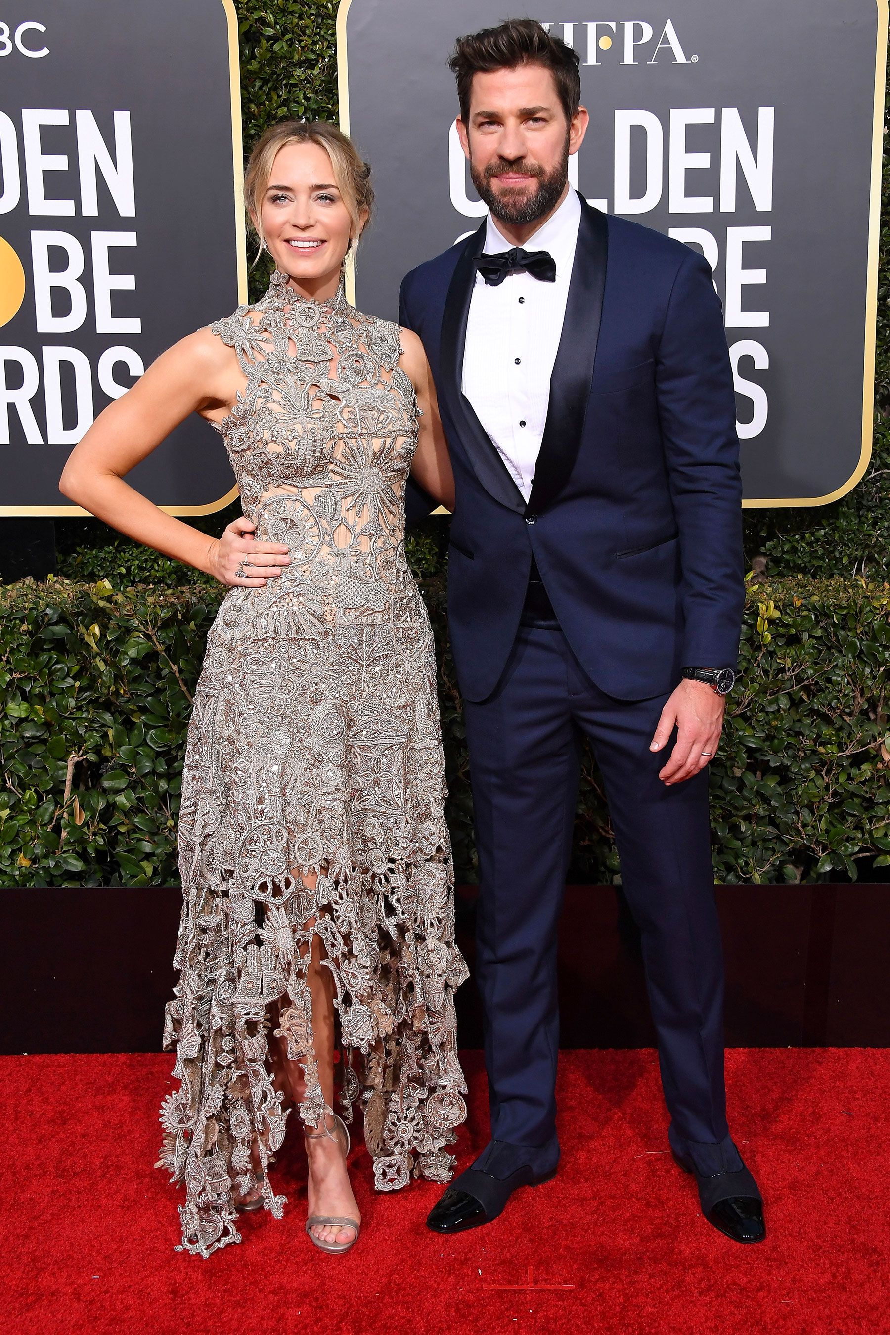 Emily Blunt And John Krasinski Win The Award For Best Dressed