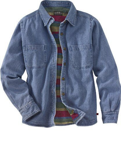 2d2904506d Woolrich Women s Fleece Lined Denim Shirt Jac Woolrich.  29.00 ...