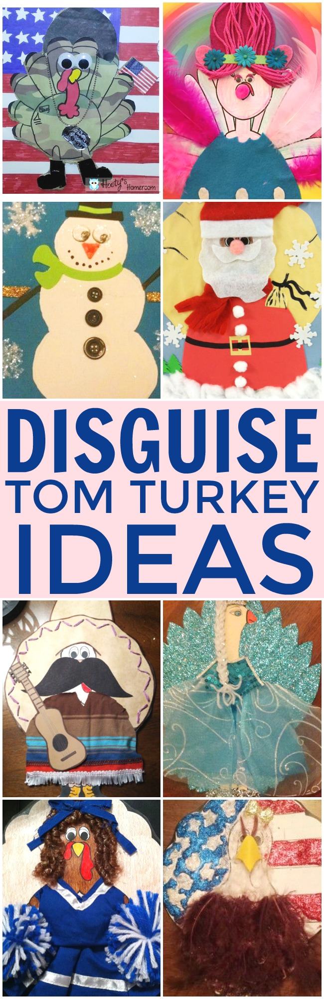 Disguise Tom Turkey | Disguise Turkey Ideas | This Girl's Life Blog